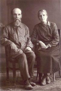 Отец Феодор с матушкой Фаиной