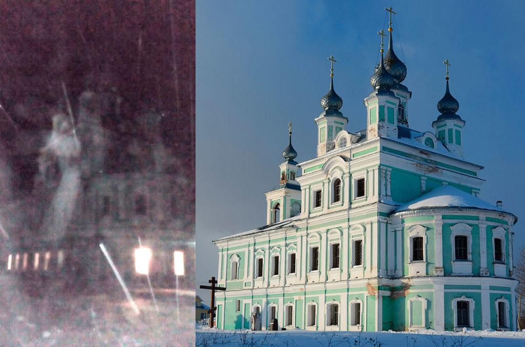 Явление Ангела на Рождество село Вощажниково