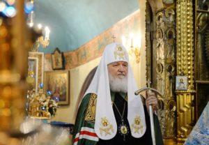 Слово Святейшего Патриарха Кирилла после литургии