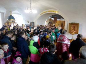 Заупокойная лития 9 мая 2017 года село Вощажниково
