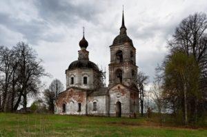 Храм Положения пояса Пресвятой Богородицы село Семёновское