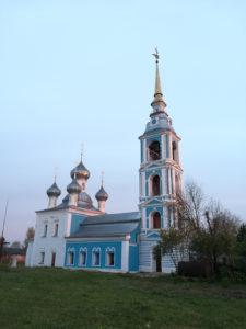 Храм Рождества Пресвятой БОгородицы село Вощажниково 2018 год