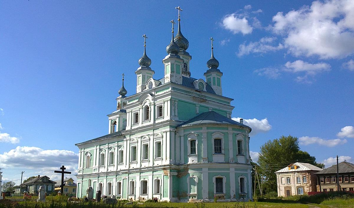 Троицкий храм село Вощажниково