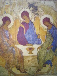 16 июня День Святой Троицы - служба в Вощажниково