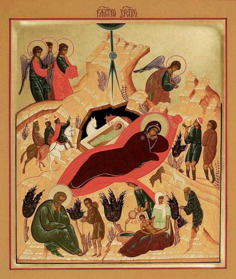 Рождественское Богослужение в селе Вощажниково 2020 год
