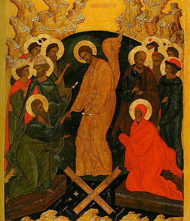 Воскресение Христово село Вощажниково